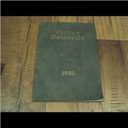 RCA VICTOR CATALOG & MUSIC BOOK YEAR 1910 to 1943