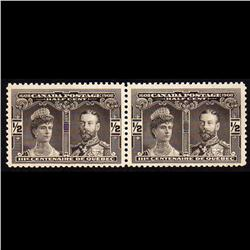 #96i VF-NH PAIR WITH MAJOR RE-ENTRY VARIETY C$295.00