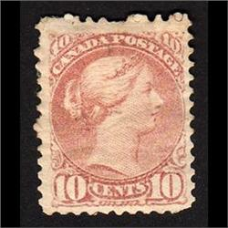#45a DULL ROSE VF-XF-HR SMALL QUEEN C$750.00
