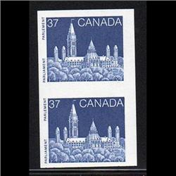 #1194d XF-NH IMPERF PAIR CREAMY PAPER DF C$225.00