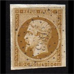 France #10 USED XF-SELECT SIGNED ON BACK NO FAULTS