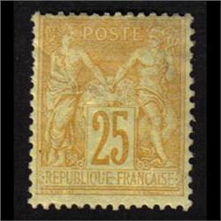 France #99 MINT LH *MINOR FOLD*