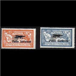 France #C1-C2 MINT LH *STAMPS ARE LOOKING NH*