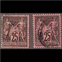 France USED #93 (Yvert #91-91a) SON CDS SELECT CHOICE CAT56€