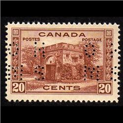 #O243 XF-LH PERFORATED 0.H.M.S. CAT$50.