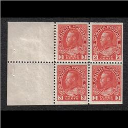 #109a NH BOOKLET PANE OF 4 C$200,00
