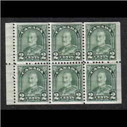 #164ai VF-5NH 1LH BOOKLET PANE OF 6 C$3