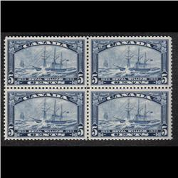 #204 XF-NH BLOCK OF 4 C$120,00 A PERFEC