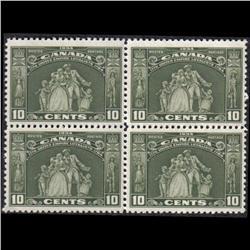 #209 XF-NH BLOCK OF 4 C$320,00 A PERFEC