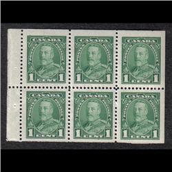 #217b VF-NH BOOKLET PANE OF 6 C$105,00