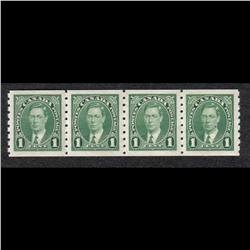 #238 to 240 VF-NH COIL STRIP OF 4 C$110