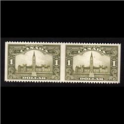 #159 XF-NH IMPERF HORIZ. PAIR PARLIAMANT C$1,350.00