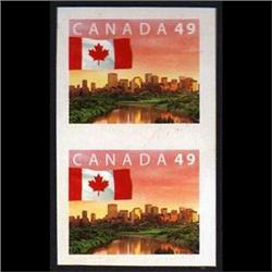 #2011b IMPERFORATED PAIR XF-NH **VERTICAL PAIR**   **ITEM HAS NO FAULTS**