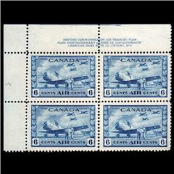 #C7 VF-NH PLATE BLOCK #2 UPPER LEFT