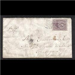#17 ON COVER TO CHICAGO SCARCE