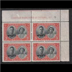 #248 VF-NH UPPER RIGHT PLATE 1-1 C$67,50