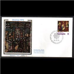 #697var COLORANO COVER *DOUBLE PRINT OF (Canada 8)*