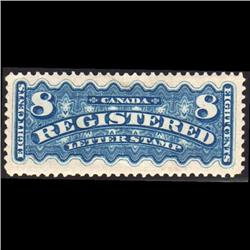 #F3 VF-XF-LH-H SELECT REGISTRATION STAMPS