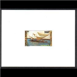 WALLIS & FUTUNA #C142 PROOF DELUXE CARD