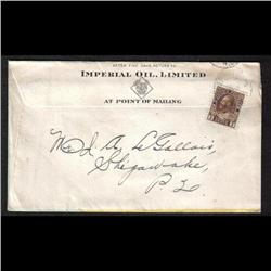 #108 on PUBLICITY COVER (IMPERIAL OIL C