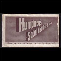 #106 PUBLICITY COVER(J.m. HUMPHREY &Co.