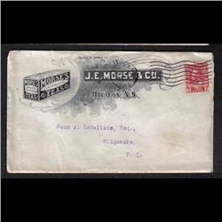 #106 PUBLICITY COVER(J.E. MORSE TEAS) 1