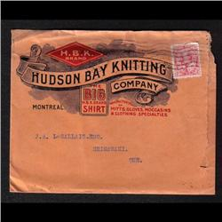 #90 PUBLICITY COVER(HUDSON BAY KNITTING