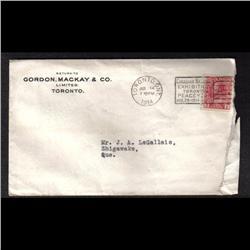 #127 PUBLICITY COVER(GORDON MACKAY & CO