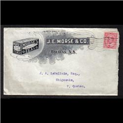 #90 PUBLICITY COVER(J.E. MORSE TEAS) 19