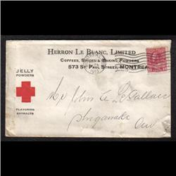 #106 RED CROSS PUBLICITY COVER(HERRON L