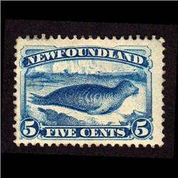 NEWFOUNDLAND #54 VF-LH MINT  CAT$200,00