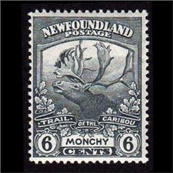 NEWFOUNDLAND #120 VF-LH MINT  CARIBOU C