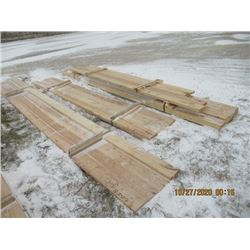 "26 Pcs (5 Lots) 5) 2x6"" x 16', 5) 2x6"" x 12', 2) 2x6"" x 10', 2) 2x6"" x 12', & 11) 2x6"" x 14' - One M"