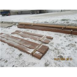 "31 Pcs All Treated (4 Lots) 11) 2x8"" x 12', 4) 2x8"" x 10' , 3) 2x8"" x 16', 13) 2x12"" x 16' - One Mon"