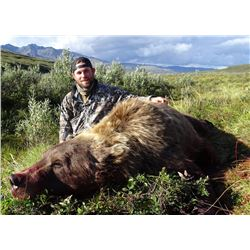 10 Day - Alaskan Grizzly Hunt for 1 Hunter
