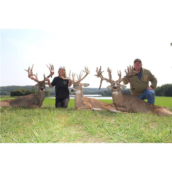 OHIO WHITETAIL HUNT FOR 2 HUNTERS WITH BRIARWOOD