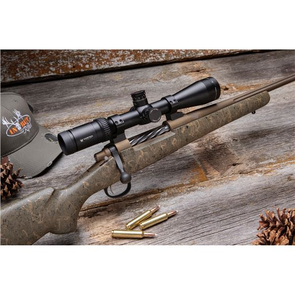 IN RUT RIFLES: CUSTOM REM. 700 HUNTING RIFLE 300 WINMAG scope not included