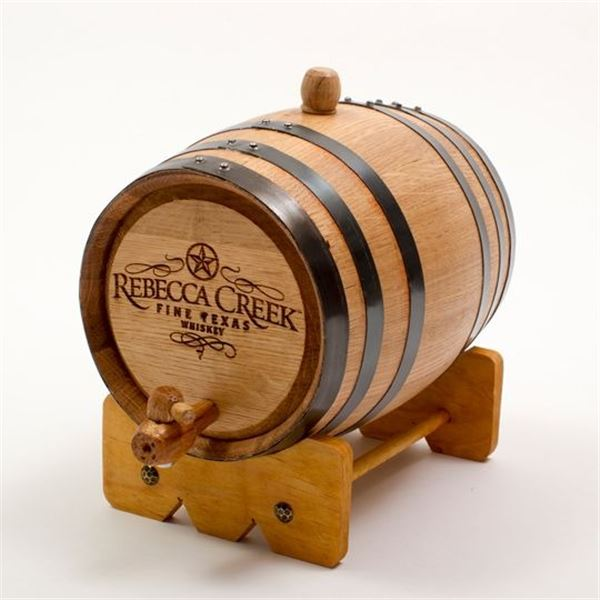 CUSTOM 10 LITER BARREL FROM REBECCA CREEK