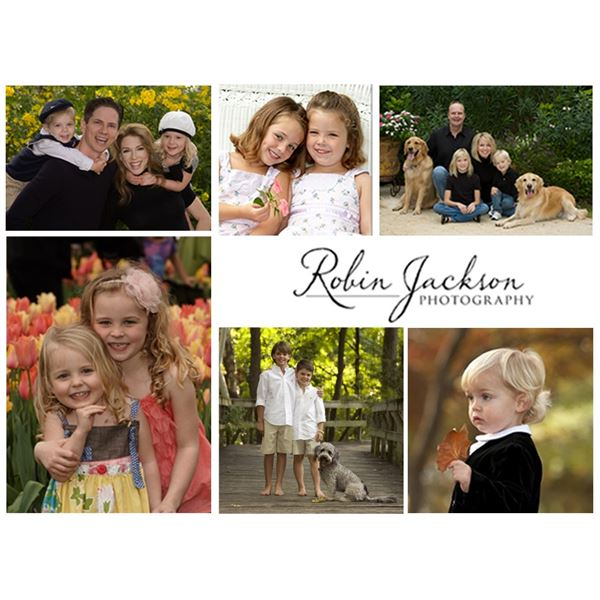 """Robin Jackson Photography 11""""x14"""" Family Portrait. Pets welcome!"""