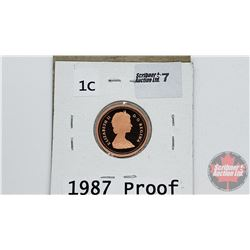 Canada One Cent : 1987 Proof