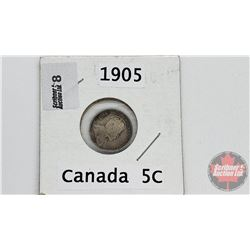 Canada Five Cent : 1905