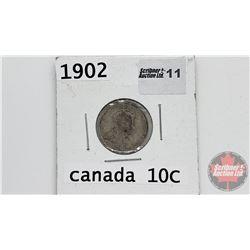 Canada Ten Cent : 1902