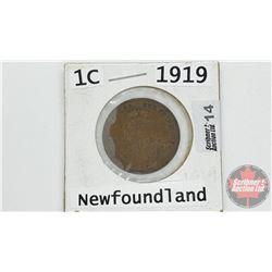 Newfoundland One Cent : 1919