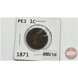 PEI One Cent : 1871