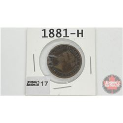 Canada Large Cent : 1881H