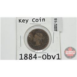 Canada Large Cent : 1884