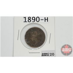 Canada Large Cent : 1890H