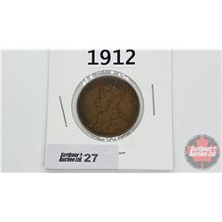Canada Large Cent : 1912