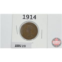 Canada Large Cent : 1914