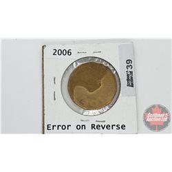 Canada Loonie 2006 (Error / Damage ?)
